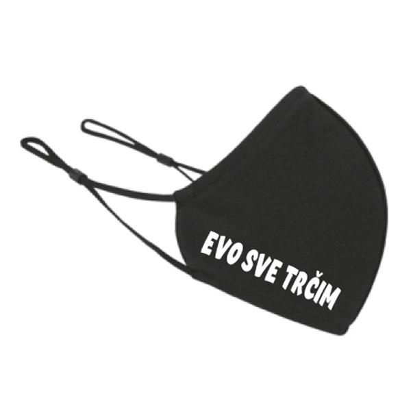 Maska za lice Evo sve trčim