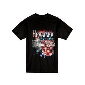 Suvenir majica Hrvatskja moja domovina
