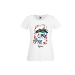 Ženska majica suvenir Kapetanica