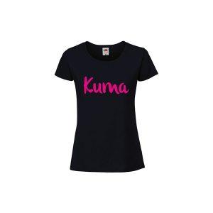Ženska majica sa natpisom Kuma