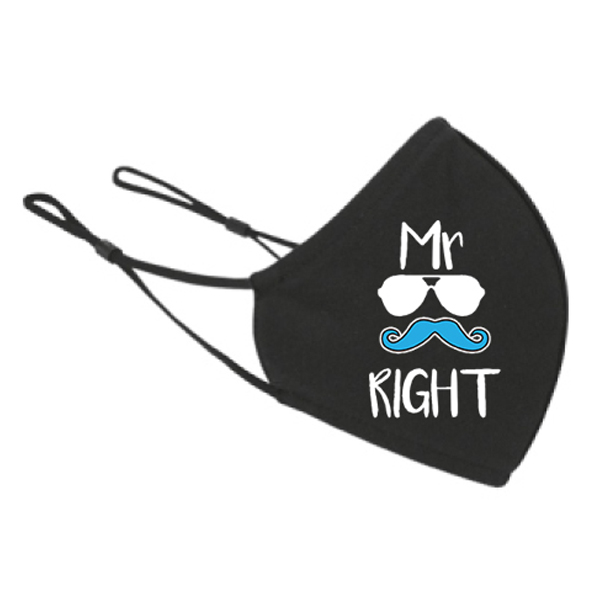 Maska za lice Mr. right
