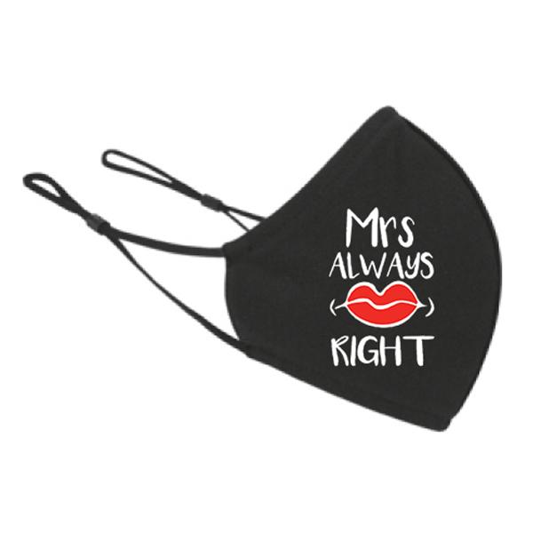 maska za lice Mrs right